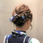 浴衣のヘアセット 墨田区 Mr.Sugar